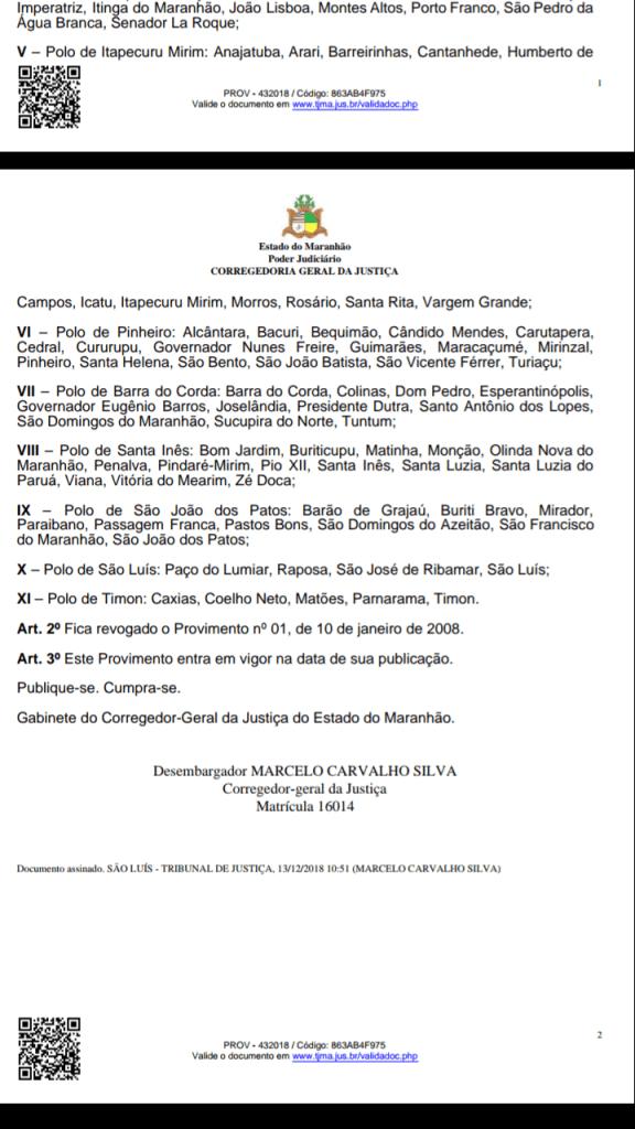 Screenshot 20190109 115751 576x1024 - TJ/MA transforma Barra do Corda em sede de polo judicial que comandará 11 cidades - minuto barra