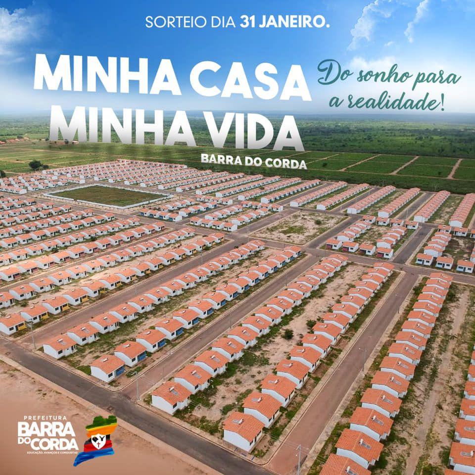 51152187 2546027112090823 6360695799139008512 n - VEJA AQUI: Prefeitura divulga lista dos sorteados para receber residências do Minha Casa Minha Vida em Barra do Corda - minuto barra
