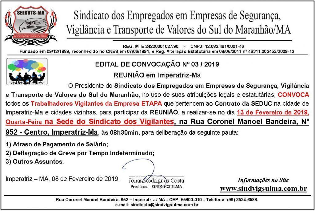 IMG 20190208 WA0028 1024x685 - Vigilantes do estado contabilizam dois meses de salários em atraso na região de Imperatriz - minuto barra
