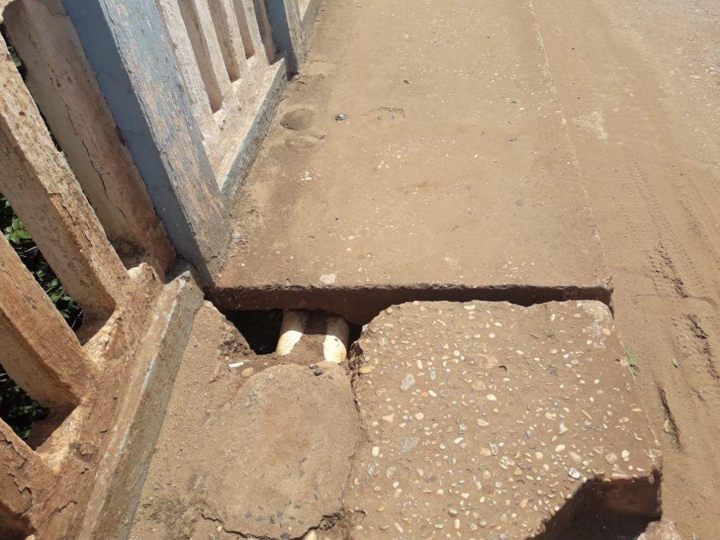 IMG 20190208 WA0115 1024x768 - Ponte de concreto em Codó pode desabar a qualquer momento por falta de reparos - minuto barra