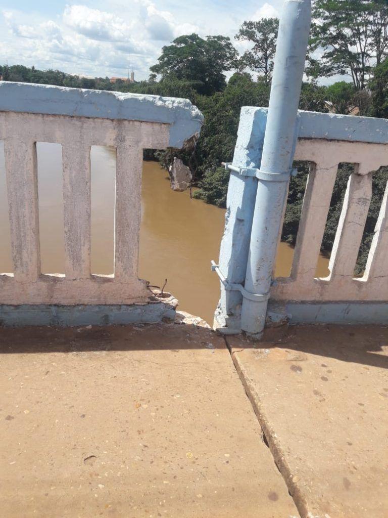 IMG 20190208 WA0121 768x1024 - Ponte de concreto em Codó pode desabar a qualquer momento por falta de reparos - minuto barra