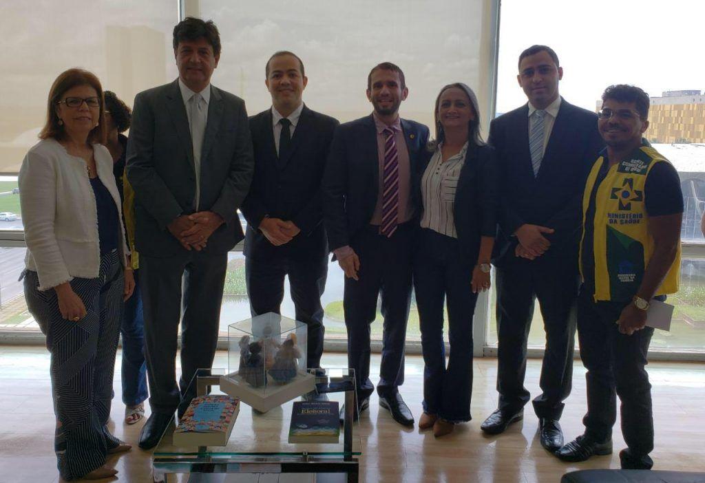 IMG 20190220 WA0084 1024x702 - Deputado Fernando Pessoa se reúne em Brasília com o Ministro da Saúde - minuto barra