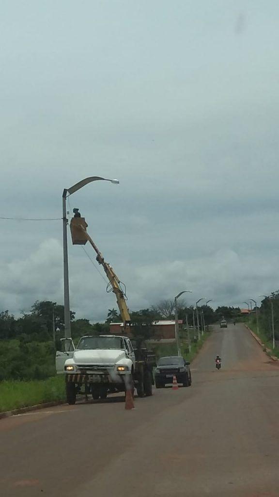 IMG 20190228 WA0145 576x1024 - Prefeito Janes Clei realiza manutenção na iluminação pública de Formosa da Serra Negra - minuto barra