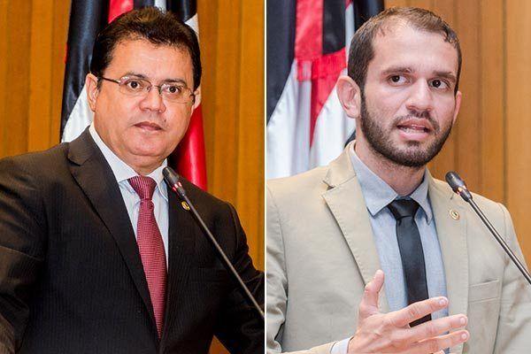 RigoTeleseFernandoPessoa - Crise no Cordino provoca primeiro enfrentamento entre Rigo Teles e Fernando Pessoa na Assembleia Legislativa - minuto barra