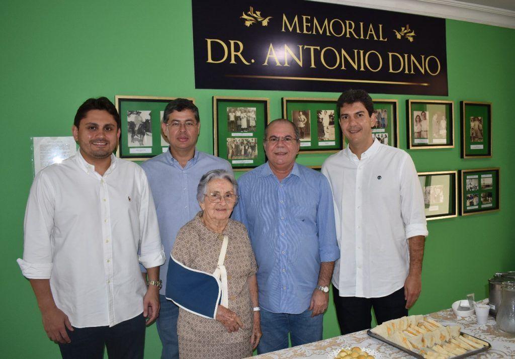 Visita Aldenora Bello foto 3 1024x714 - Hildo Rocha visita obra de ampliação do Hospital Aldenora Bello e reafirma compromisso com a instituição - minuto barra