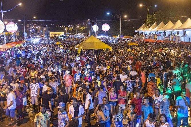 FB IMG 1551624963221 - Multidão lota o espaço cultural em Barra do Corda na primeira noite de carnaval - minuto barra