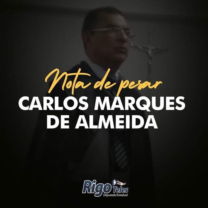 FB IMG 1552241715970 - Rigo Teles lamenta falecimento do oficial de justiça Carlão em Barra do Corda - minuto barra
