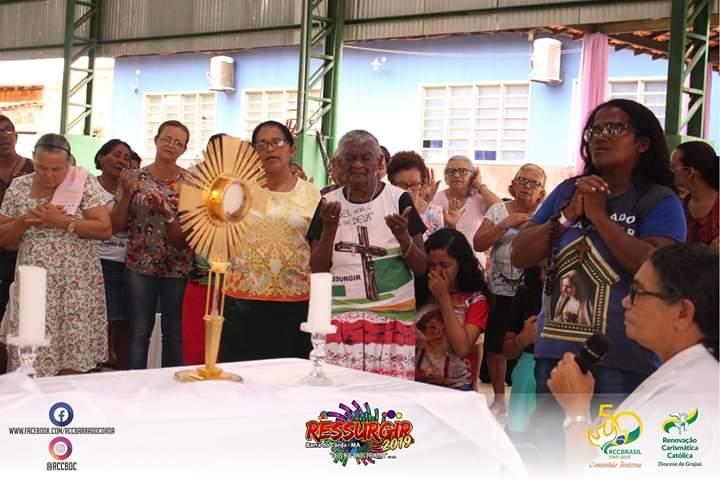 IMG 20190304 WA0360 - RCC promove retiro no bairro Cerâmica e reúne dezenas de cristãos - minuto barra