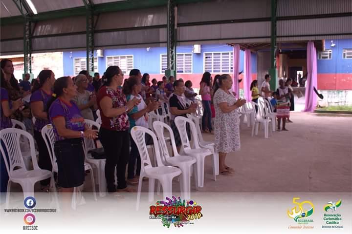 IMG 20190304 WA0361 - RCC promove retiro no bairro Cerâmica e reúne dezenas de cristãos - minuto barra