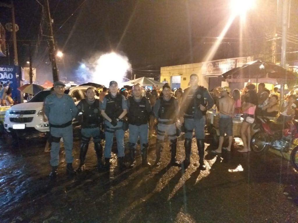 IMG 20190306 WA0036 1024x768 - Mais de 100 policiais militares garantiram a segurança no carnaval de Barra do Corda - minuto barra