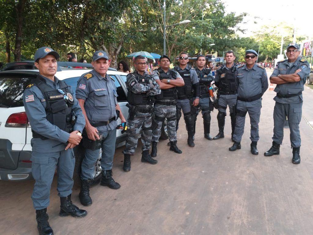 IMG 20190306 WA0038 1024x768 - Mais de 100 policiais militares garantiram a segurança no carnaval de Barra do Corda - minuto barra
