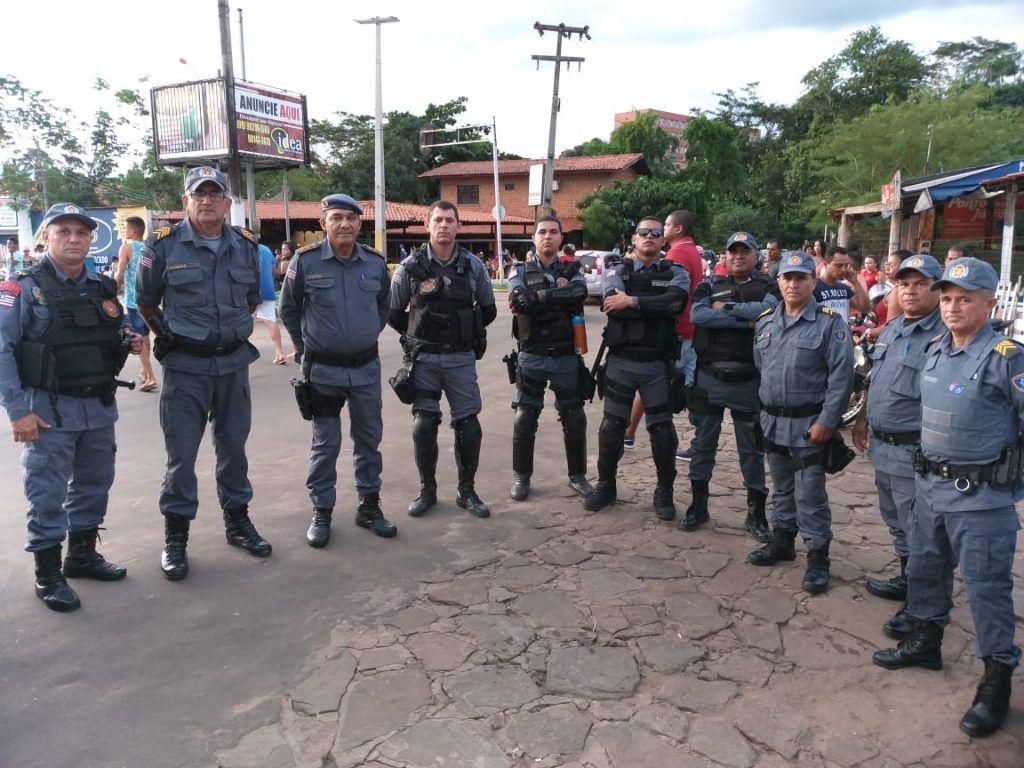 IMG 20190306 WA0039 1024x768 - Mais de 100 policiais militares garantiram a segurança no carnaval de Barra do Corda - minuto barra