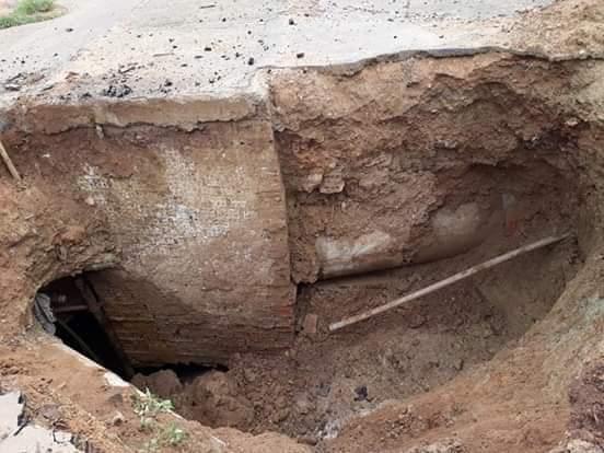 IMG 20190306 WA0058 - VEJA AQUI: Cratera se abre no bairro tamarindo e coloca em risco a vida de pessoas - minuto barra