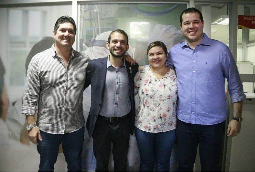 IMG 20190321 WA0316 1024x691 - Dr Adriano e Deputado Fernando Pessoa se reúnem com o Secretário Estadual de Saúde cobrando demandas para Barra do Corda - minuto barra