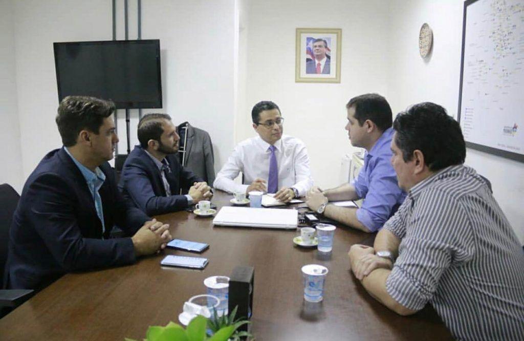 IMG 20190321 WA0317 1024x666 - Dr Adriano e Deputado Fernando Pessoa se reúnem com o Secretário Estadual de Saúde cobrando demandas para Barra do Corda - minuto barra