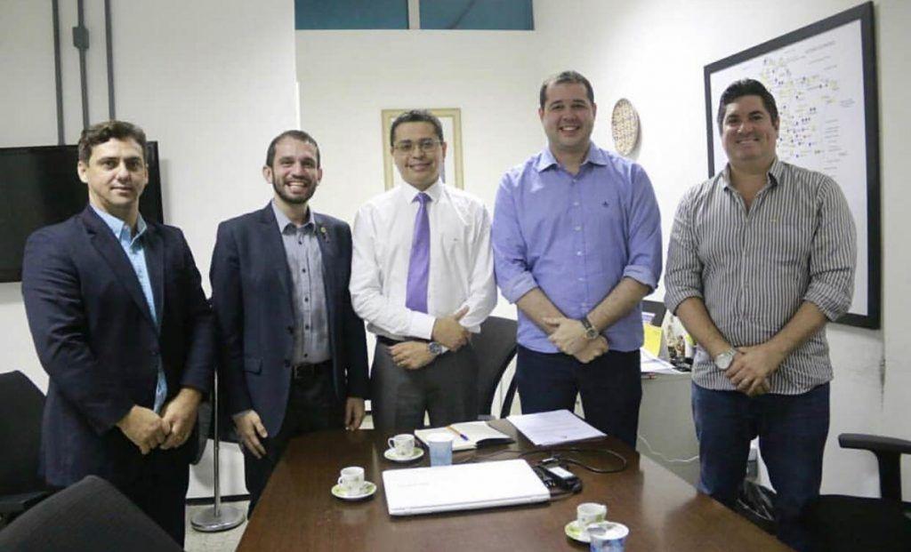 IMG 20190321 WA0318 1024x621 - Dr Adriano e Deputado Fernando Pessoa se reúnem com o Secretário Estadual de Saúde cobrando demandas para Barra do Corda - minuto barra