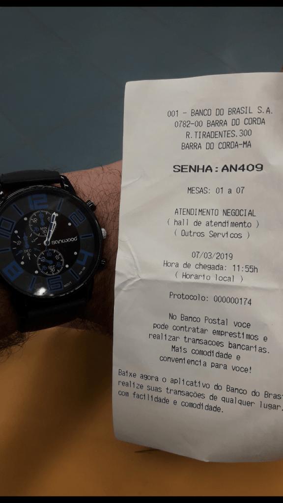 Screenshot 20190307 195550 576x1024 - No Banco do Brasil em Barra do Corda, clientes chegam a ficar por mais de 2 horas na fila esperando atendimento - minuto barra