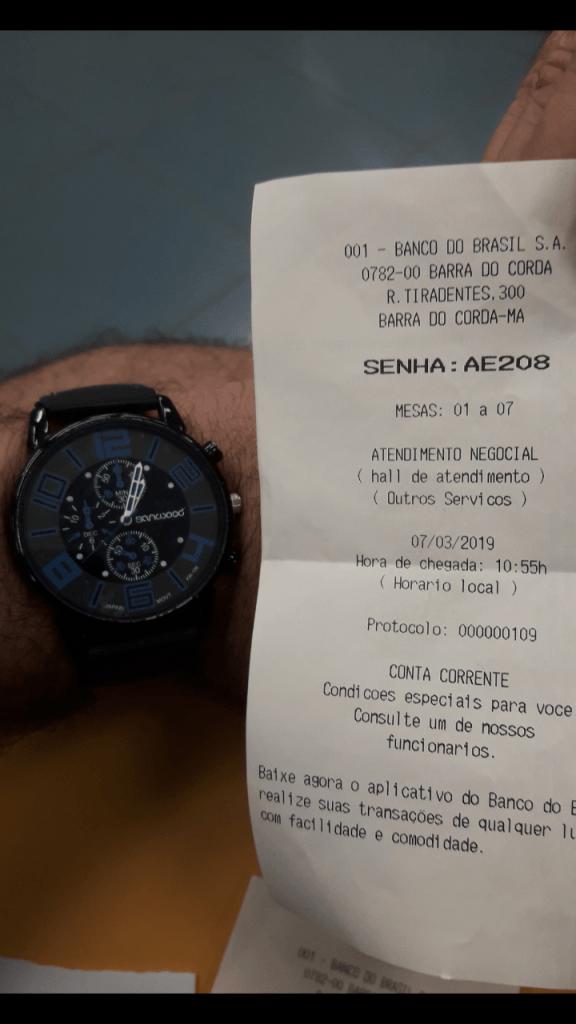 Screenshot 20190307 195603 576x1024 - No Banco do Brasil em Barra do Corda, clientes chegam a ficar por mais de 2 horas na fila esperando atendimento - minuto barra