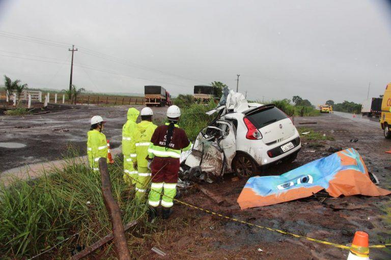 acidente 6 768x512 - Filho do ex-prefeito de Paraibano morre em acidente na Br-163 em MS - minuto barra