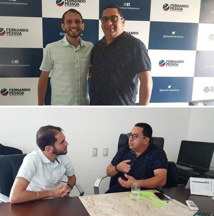 CollageMaker 20190412 142857524 - Prefeito Moisés Ventura se reúne com deputado Fernando Pessoa e tratam de melhorias para Jenipapo dos Vieiras - minuto barra