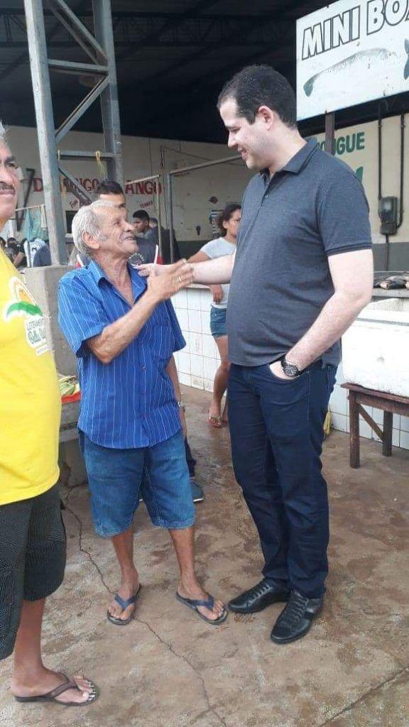 FB IMG 1555276509972 576x1024 - Dr Adriano Brandes visita feira da altamira, participa da procissão e missa de Ramos em Barra do Corda - minuto barra