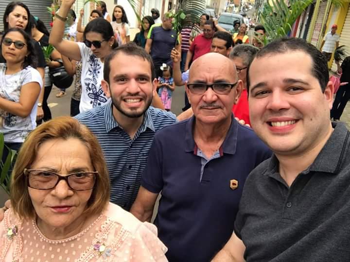 FB IMG 1555276515503 - Dr Adriano Brandes visita feira da altamira, participa da procissão e missa de Ramos em Barra do Corda - minuto barra