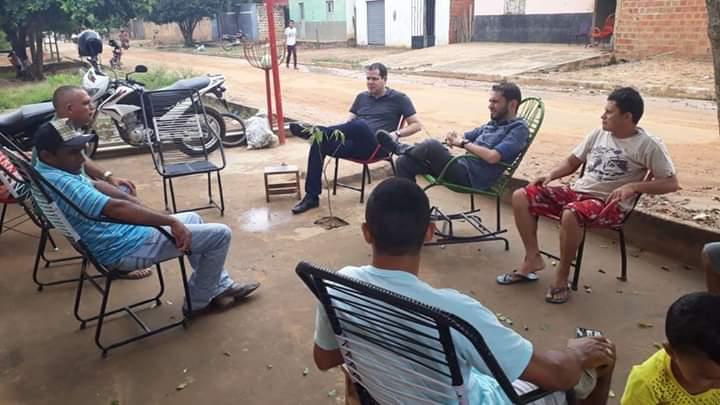 FB IMG 1555276531682 - Dr Adriano Brandes visita feira da altamira, participa da procissão e missa de Ramos em Barra do Corda - minuto barra