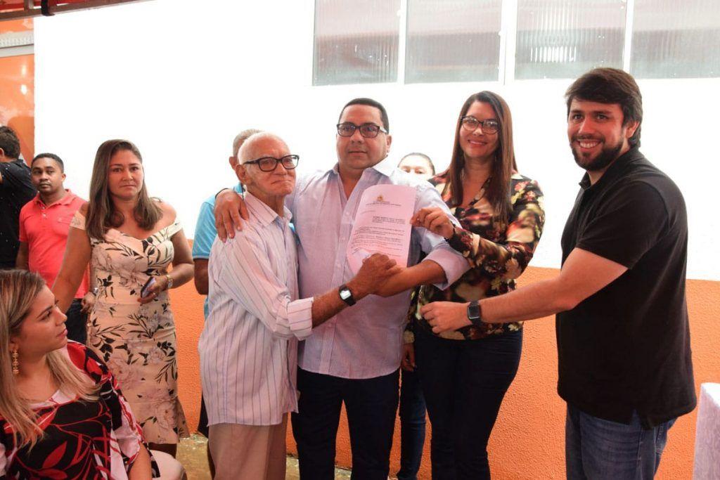 IMG 20190406 WA0146 1024x683 - Prefeito Moisés Ventura inaugura 3 UBS's e entrega 4 veículos zero km em Jenipapo dos Vieiras - minuto barra