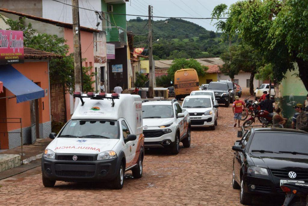 IMG 20190406 WA0170 1024x683 - Prefeito Moisés Ventura inaugura 3 UBS's e entrega 4 veículos zero km em Jenipapo dos Vieiras - minuto barra
