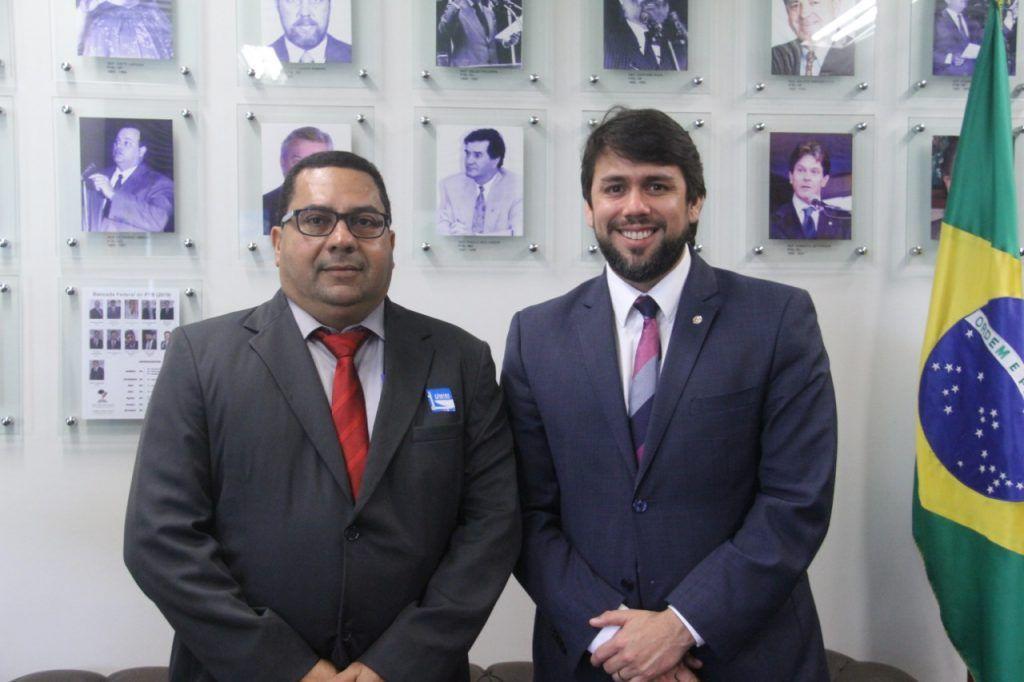 IMG 20190410 WA0267 1024x682 - Prefeito Moisés Ventura é recebido em Brasília pelo deputado Pedro Lucas e em seguida por Davi Alcolumbre, presidente do senado - minuto barra