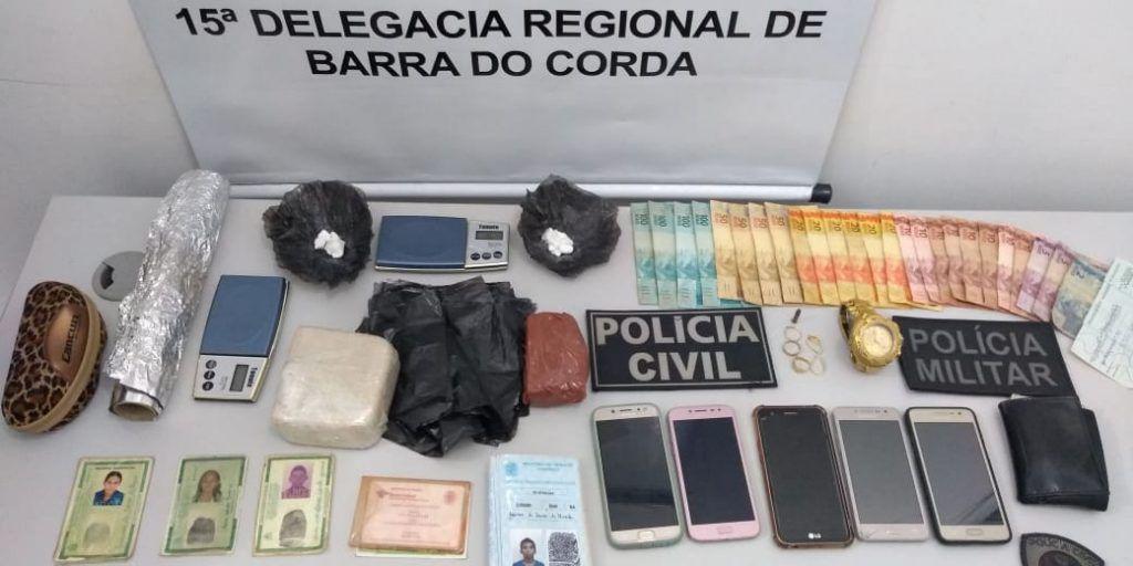 IMG 20190413 WA0122 1024x512 - URGENTE!! Cinco pessoas são presas em Barra do Corda durante grande operação das polícias Civil e Militar - minuto barra