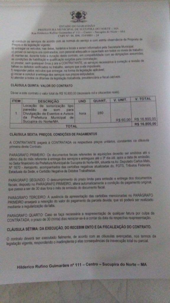 IMG 20190422 WA0106 576x1024 - Alô Ministério Público!! Prefeita de Sucupira do Norte contrata paredão de som por quase 20 mil reais - minuto barra