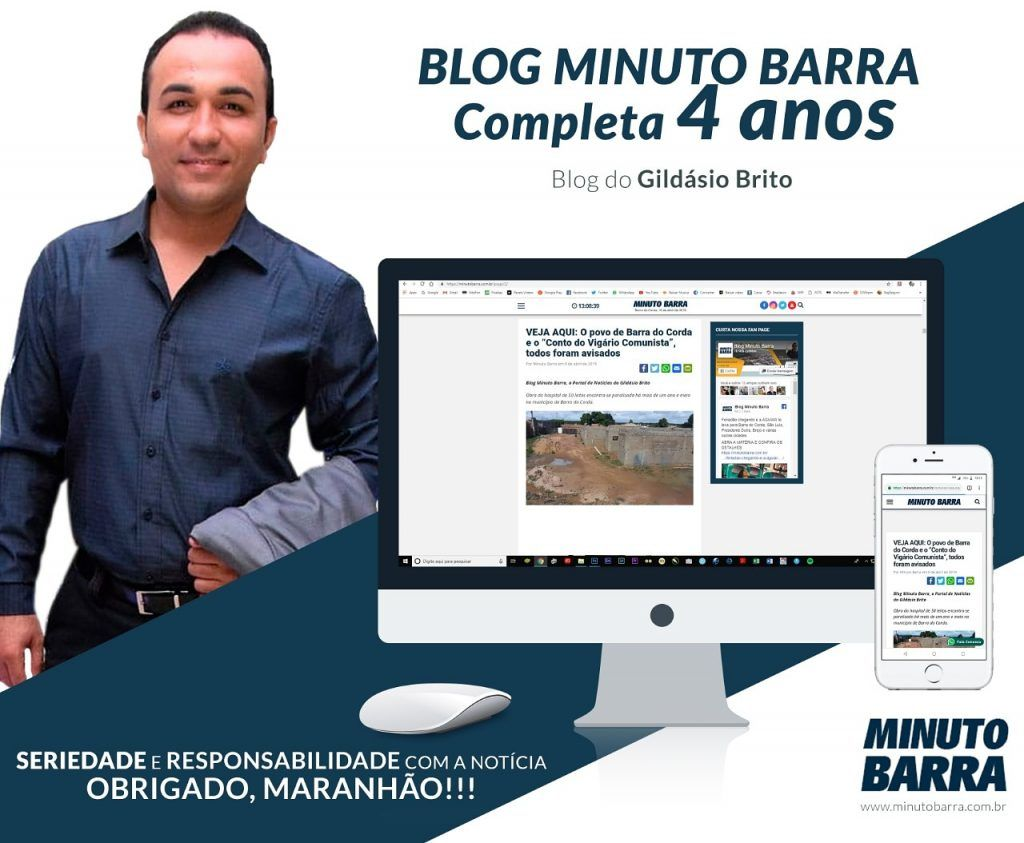 IMG 20190416 134922 751 1024x843 - Blog do Gildásio Brito, O MINUTO BARRA, comemora 4 anos. Veja aqui a primeira entrevista em 16 de abril de 2015 - minuto barra
