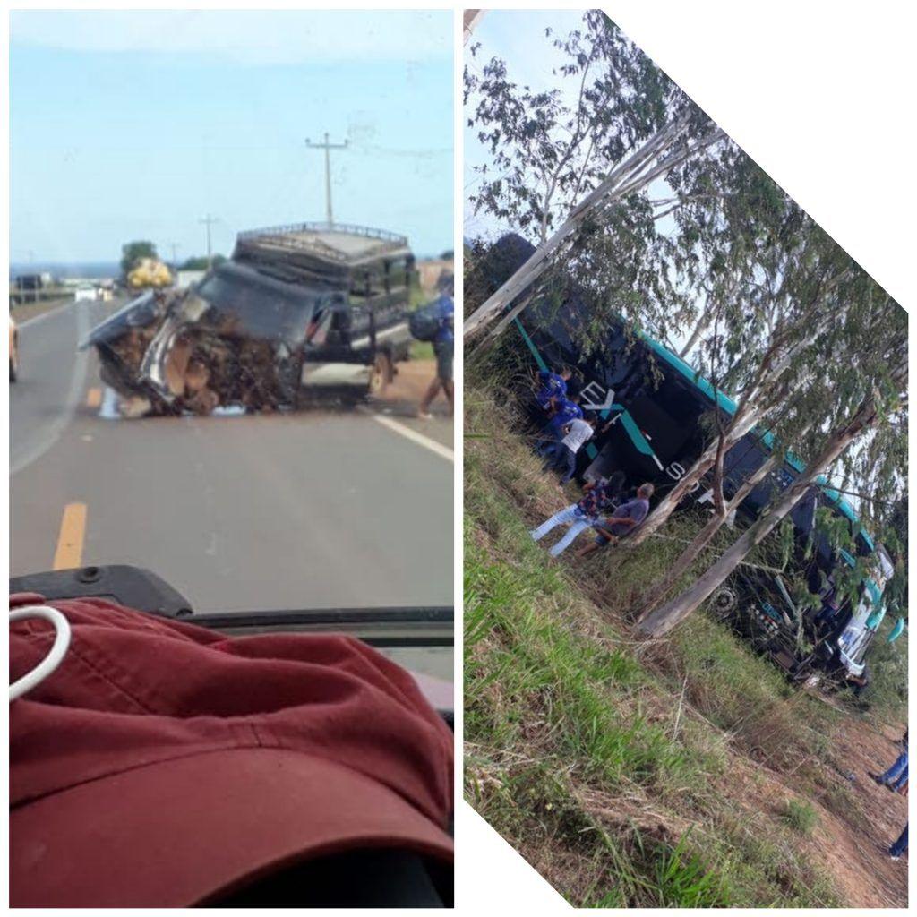 CollageMaker 20190510 164103774 1024x1024 - URGENTE!! Grave acidente na Br-226 em Barra do Corda envolvendo ônibus e D-20 - minuto barra