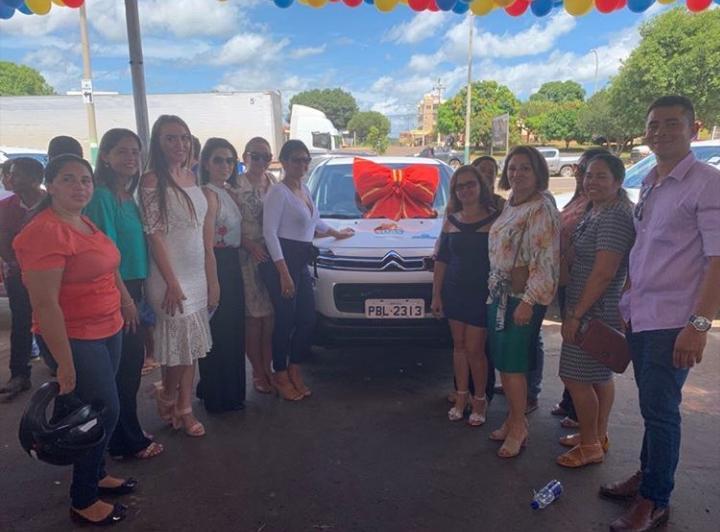 IMG 20190504 WA0047 - No aniversário de Barra do Corda, Hildo Rocha presenteia a cidade com um carro 0km - minuto barra
