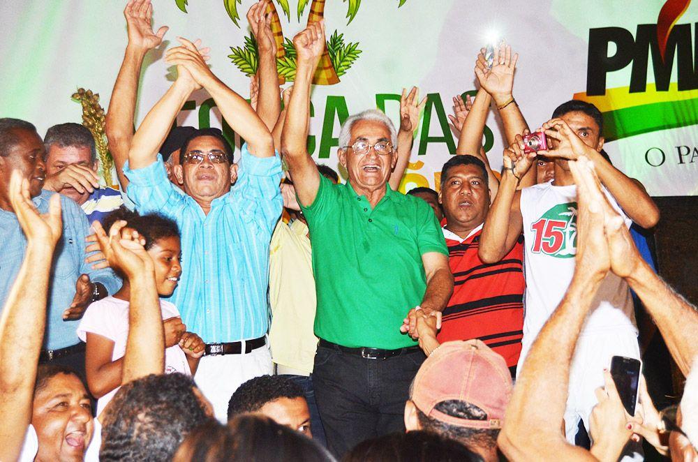 Convenção Mercial Arruda - Para 67% dos Grajauenses, Mercial Arruda será prefeito de Grajaú pela 5ª vez - minuto barra