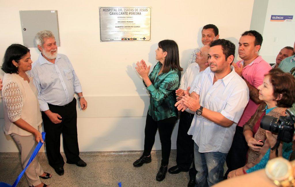 Foto 6 Governadora inaugura hospital em Ze Doca foto Handson Chagas 1024x650 - VÍTIMA DE INFARTO: Morre o ex-prefeito de Zé Doca, Dr. Alberto aos 66 anos - minuto barra
