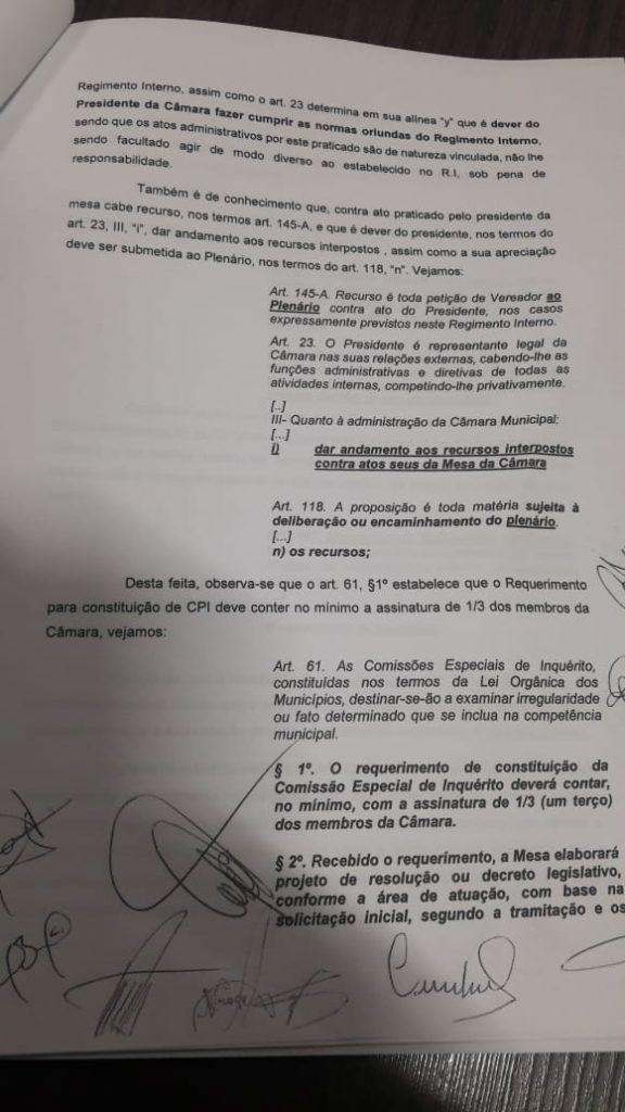 IMG 20190612 WA0038 576x1024 - VEJA AQUI: 11 vereadores assinam documento para acabar com CPI que pretende apurar mortes de bebês em Barra do Corda - minuto barra