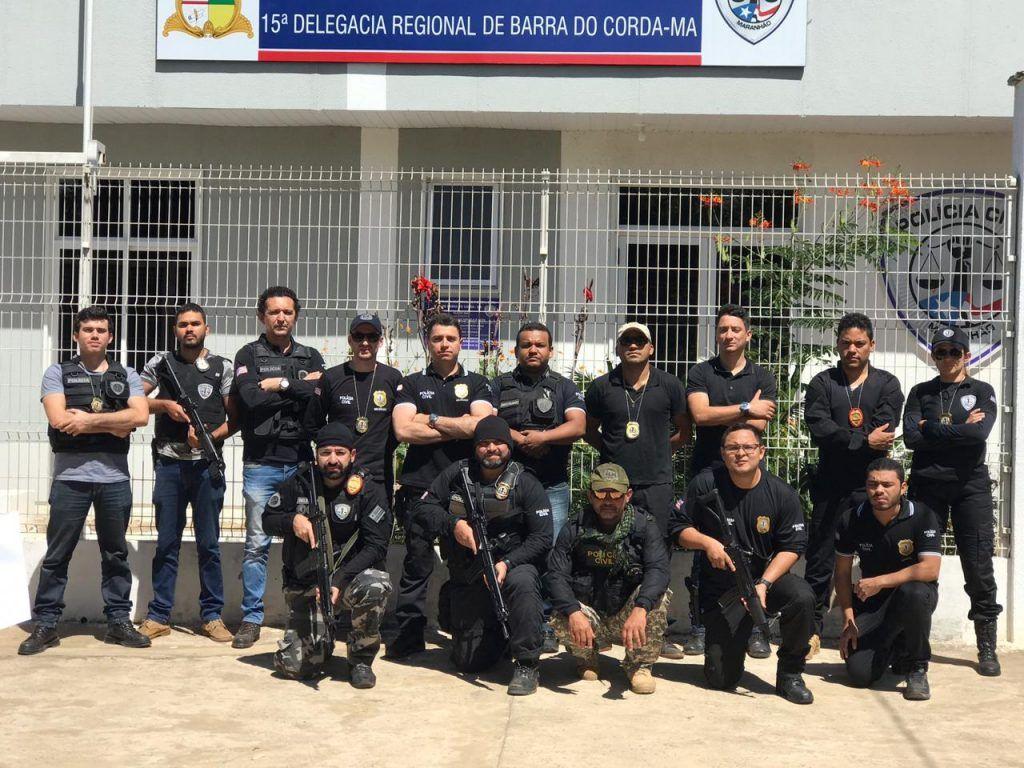 IMG 20190614 WA0095 1024x768 - Grande operação da Polícia Civil em Barra do Corda prende suspeito de roubos de carga na região - minuto barra