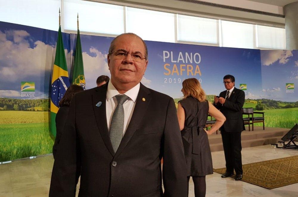 LANÇAMENTO DO PLANO SAFRA 2019 2020 FOTO 1 - Trabalho de Hildo Rocha proporciona ampliação dos recursos do Plano Safra 2019/2020 - minuto barra