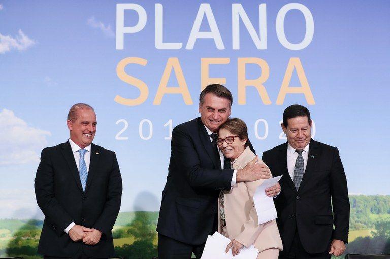 LANÇAMENTO DO PLANO SAFRA 2019 2020 FOTO 5 - Trabalho de Hildo Rocha proporciona ampliação dos recursos do Plano Safra 2019/2020 - minuto barra