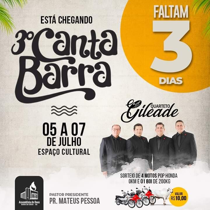 FB IMG 1562107435850 - TÁ CHEGANDO o grande evento CANTA BARRA DO CORDA - minuto barra