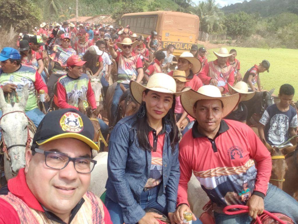IMG 20190707 WA0078 1024x768 - Prefeito Moisés Ventura prestigia grande cavalgada em Jenipapo dos Vieiras - minuto barra