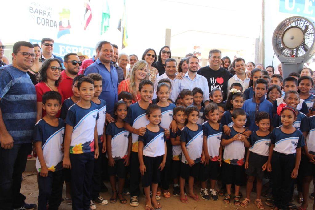 99E12363 D2B6 452E B7B6 482B7267DE8B 1024x682 - Fernando Pessoa participa da entrega de importantes obras em Barra do Corda - minuto barra