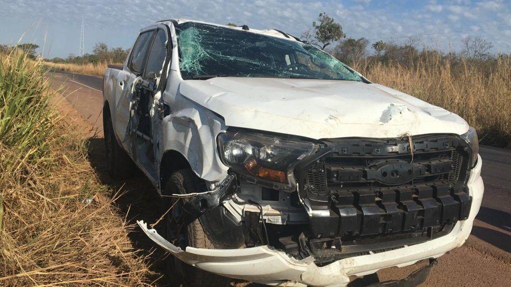 A6C11B90 E398 46F1 BAEE 314CA261C7BE 1024x576 - Policial Civil sofre acidente violento na BR-226, o agente não usava o cinto de segurança - minuto barra