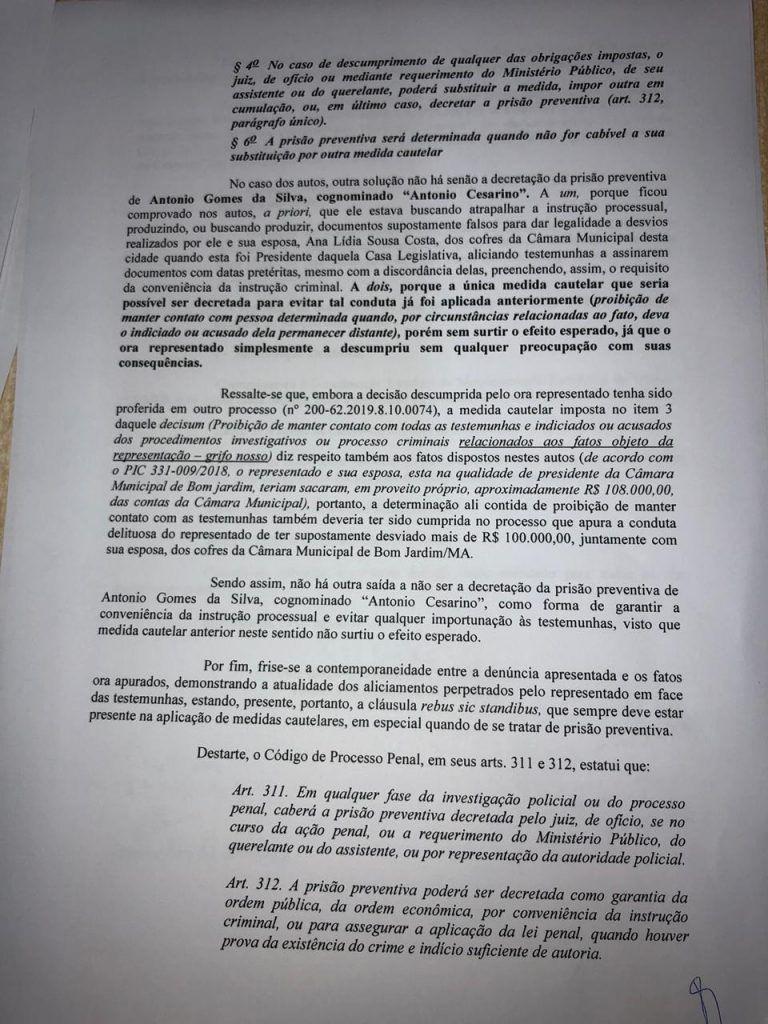 E862670C 5010 422A 9006 09E51D8627CE 768x1024 - URGENTE!! Juiz manda prender vereador Cezarino de Bom Jardim a pedido do Promotor Fábio Santos - minuto barra