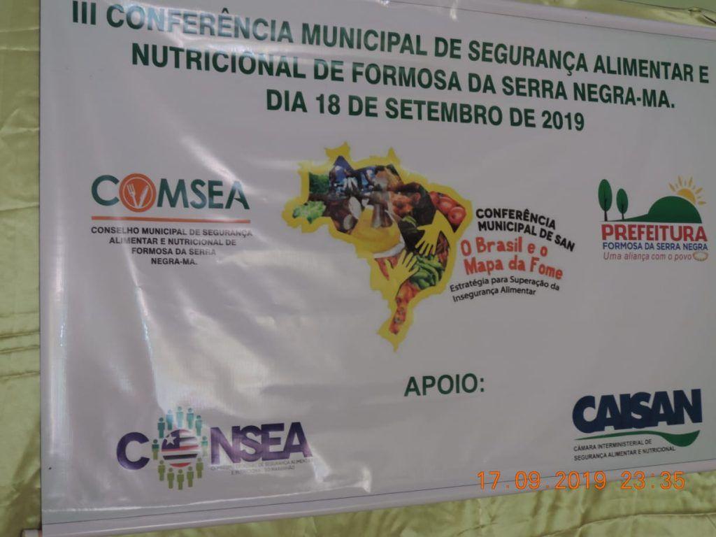 14 1024x768 - Prefeitura de Formosa da Serra Negra realiza III Conferência Municipal de Segurança Alimentar e Nutricional - minuto barra