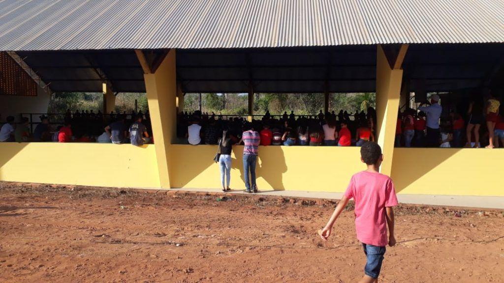21 1024x576 - Prefeito Janes Clei inaugura quadra de esporte, entrega trator e ambulância em Formosa da Serra Negra - minuto barra