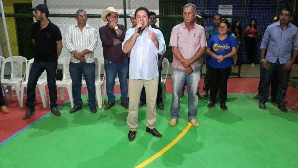 22 1024x576 - Prefeito Janes Clei inaugura quadra de esporte, entrega trator e ambulância em Formosa da Serra Negra - minuto barra