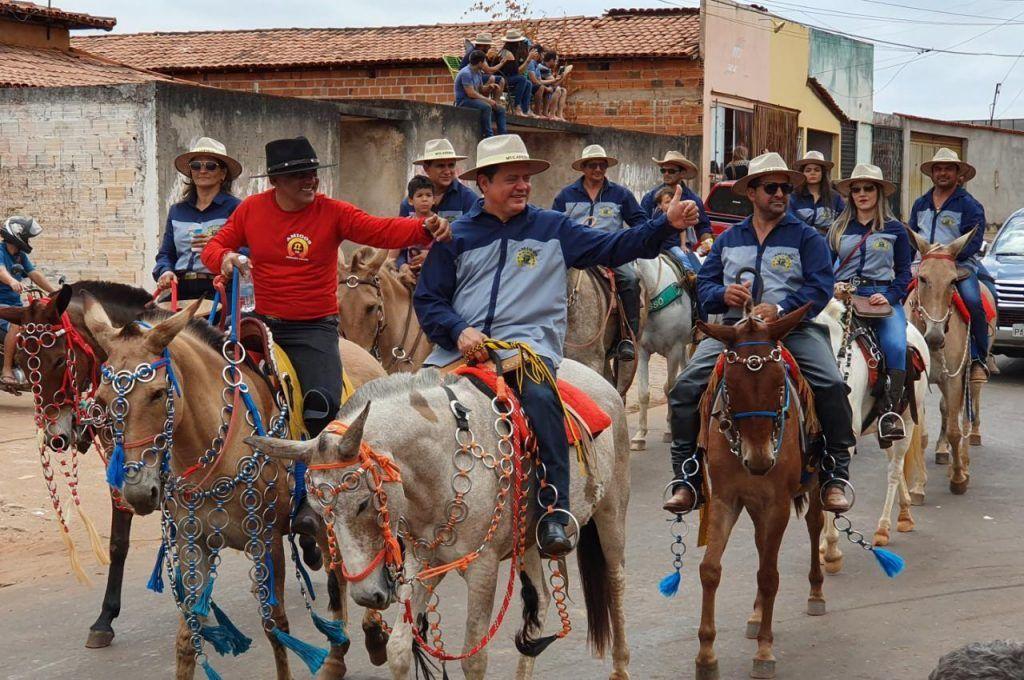 7 1024x680 - Rigo Teles prestigia grande Cavalgada em Formosa da Serra Negra - minuto barra